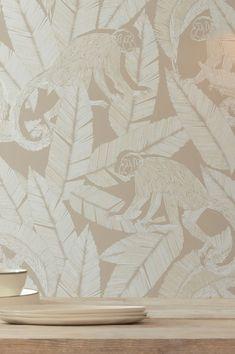 #cartadaparati#decorazioneinterni#cartadaparafloreale Basic Colors, Green Colors, Light Colors, Wallpaper Samples, Pattern Wallpaper, Beautiful Flowers Wallpapers, Grey And Beige, Flower Wallpaper, Designer Wallpaper