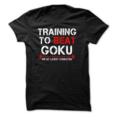 Train to beat goku or Chiaotzu T Shirt, Hoodie, Sweatshirt