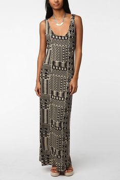 Staring at Stars Maxi Tank Top Dress  #UrbanOutfitters - love maxi dresses :)