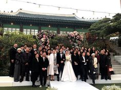 So much for a private wedding, more exclusive photos and video footage were released from Song Joong Ki-Song Hye Kyo's marriage cere… Song Hye Kyo, Song Joong Ki, Star Wedding, Wedding Pics, Wedding Couples, Wedding Ideas, Decendants Of The Sun, Songsong Couple, Private Wedding
