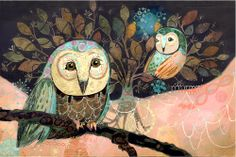 'Night Owls' by Judy Verhoeven