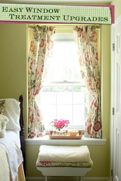 How to Install Window Blinds and Curtains {Lowe's Creator} - Pretty Handy Girl