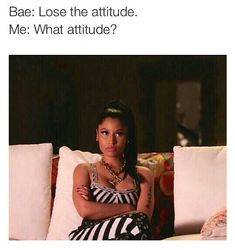 "I hate the word ""bae"", but this is so me lol Funny Quotes, Funny Memes, Hilarious, Stupid Memes, True Quotes, Love Is In The Air, How I Feel, Just For Laughs, Nicki Minaj"