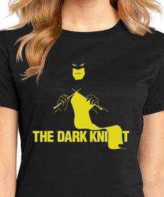 The Dark Knit Batman Justice League Knitting by HeyThatsSuper