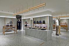 Valentino Uomo / Paris / David Chipperfield / London Design Journal