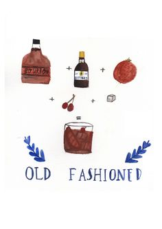 Old Fashioned by Dick Vincent Illustration
