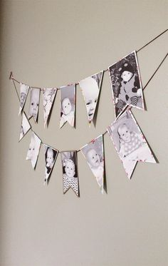 Parties | First Year Photo Banner | Brittany Sazonoff (BSaz Creates) for Silhouette America