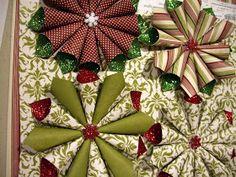 DAN & DIANA HULME: glitter christmas ornaments