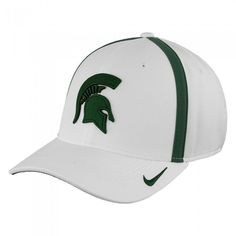 huge selection of eb275 3325c Michigan State University 2017 Nike Dri Fit Sideline Aerobill Flex Hat At  Campus Den Nike Dri
