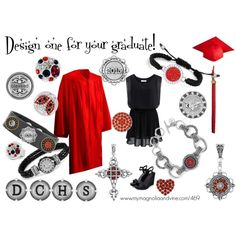 Magnolia and Vine for the Graduate by suzyquf on Polyvore