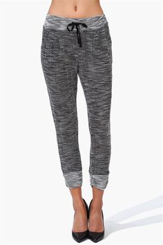 Bad to the Bone Jogger Pants in Grey