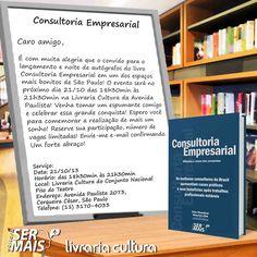 """Lançamento do livro """"Consultoria Empresarial"""""""