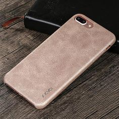 X-level Vintage Cowboy PU Leather Back Cover Case For iPhone 7 7 Plus iPhone 8 8 plus 6 6s Plus thin Phone Bag For iPhone 5s SE