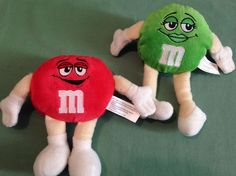 2 M M Red Green Candy Computer Screen Cleaner Reusable Very Soft Handy Plush Toy | eBay