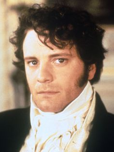 """Colin Firth as Mr. Darcy in """"Price and Prejudice"""" (Fine, he's fictional, but he's still hot!)"""