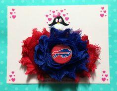 Buffalo Bills headband football headband baby by AnisasBowtique, $12.00