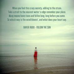Xavier Rudd - beautiful :)