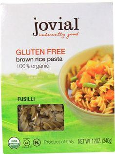 Jovial Organic Brown Rice Pasta Fusilli Gluten Free -- 12... https://www.amazon.com/dp/B01N0607TR/ref=cm_sw_r_pi_dp_x_5L0pybQYQC9MN