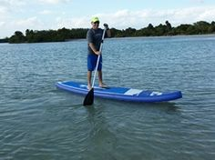 New Racing SUP designed for effortless gliding through the water for impressive speed and performance.