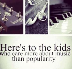 That's me!!! :) Music is my life!!! <3