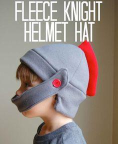 casque chevalier polaire Patron gratuit : Un casque de chevalier en polaire