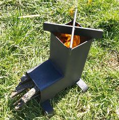 Cohete estufa Camping estufa estufa de leña estufa emergencia