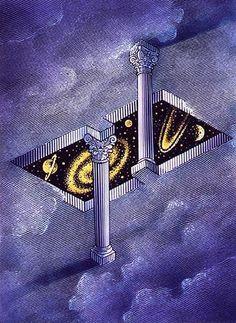 Monde impossible: Art: Is Escher Art, Mc Escher, Art Optical, Optical Illusions, Wallpapers Kawaii, Math Art, Illusion Art, Psychedelic Art, Surreal Art