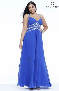 Faviana 9335 Beautiful #faviana #gown perfect for #prom or #nightout. Comes in multiple colors. #dress #cocktail #beautiful #evening #spring #ballgown #2014