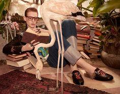 Gucci Pre-Fall 2016 Photographer: Glen Luchford Fashion Editor: Jane How