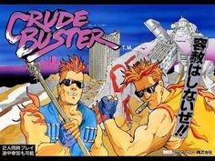 Crude Buster   Arcade   Final Boss