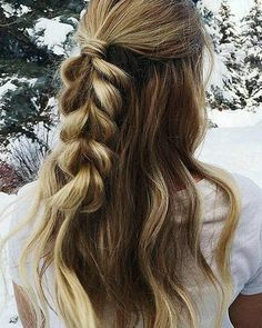 Braid summer hair
