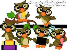 Smarty Pants Owls