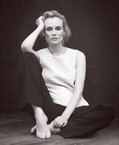 Diane Kruger by Matthew Brookes