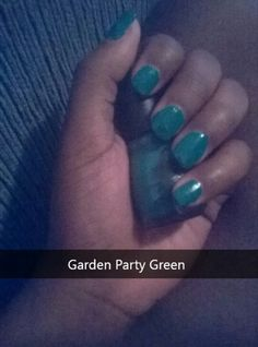 Garden Party Green by Sinful Colors
