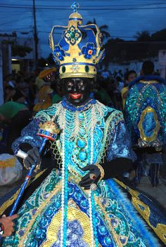 Rainha de Maracatu Nação Iracema Koning van de Maracatu