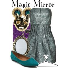 """Magic Mirror"" by lalakay on Polyvore #disney"