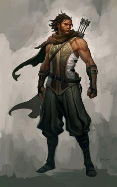 Ranger from Diablo III