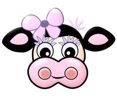 Cow Mask Cow Mask, Printable Masks, Free Printable, Glitter Images, Picasa Web Albums, Projects For Kids, Country, Mickey Mouse, Disney Characters