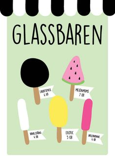 DIY- Gör egna glassar av trolldeg – DIY, pyssel & prints Projects For Kids, Diy For Kids, Crafts For Kids, Printable Paper, Summer Crafts, Pre School, Kids And Parenting, Kids Playing, Deutsch