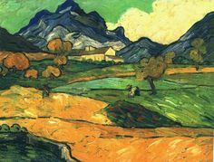 Paul Serusier  Mount Gaussier with the Mas de Saint-Paul