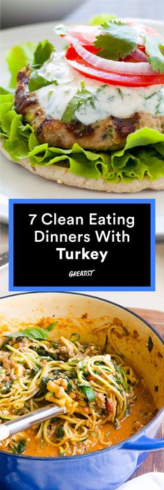 These awesome meals will make you wonder why you haven't been using ground turkey more often. #healthy #dinner #recipes http://greatist.com/eat/clean-eating-ground-turkey-recipes