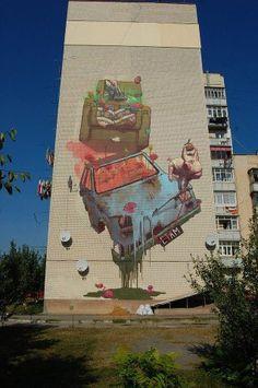 Street art | Mural by ETAM Cru