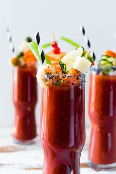 The best Bloody Mary made with Hangar Chipotle Vodka. Savory & smoky, this Chipotle Bloody Mary is the perfect drink to pair with your brunch favorites! Vodka Recipes, Alcohol Recipes, Cocktail Recipes, Drink Recipes, Brunch Drinks, Yummy Drinks, Bloody Mary Bar, Breakfast Cafe, Bloody Mary Recipes