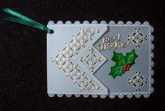 放大檢視: 0633-聖誕祝福卡 - Parchment Craft小品 - Gloria的相簿 @ 隨意窩 Xuite 相簿