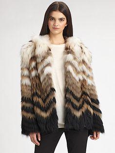 Theory - Cassius Fur Coat