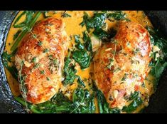 Easy, delicious and healthy Paprika Chicken and Spinach with White Wine Butter Thyme Sauce recipe from SparkRecipes. See our top-rated recipes for Paprika Chicken and Spinach with White Wine Butter Thyme Sauce. Wine Butter, Butter Sauce, Good Food, Yummy Food, Tasty, Cooking Recipes, Healthy Recipes, Cooking Corn, Healthy Eats