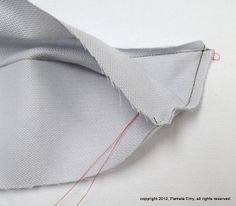 "Off The Cuff ~Sewing Style~: Perfect Collar Points...A Shirtmaker's ""Secret"" Technique"