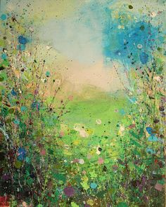 "Saatchi Online Artist Sandy Dooley; Painting, ""Woodsmoke, English Afternoon"" #art"