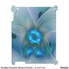Standing Ovations, Abstract Fractal Art Cover For The iPad