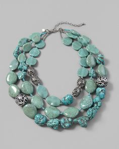 Caicos Multi-Strand Necklace